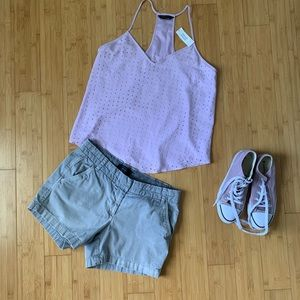 J. Crew Chino Shorts Gray size 6